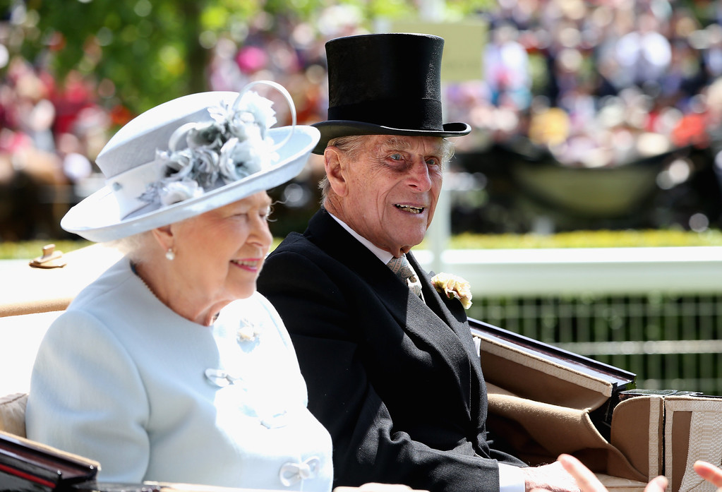 . Queen Elizabeth II and Prince Philip, Duke of Edinburgh attend day one of Royal Ascot at Ascot Racecourse on June 17, 2014 in Ascot, England.  (Photo by Chris Jackson/Getty Images for Ascot Racecourse)