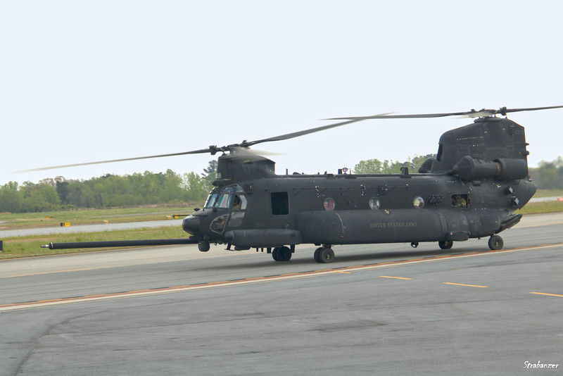 Boeing MH-47G Chinook  c/n M3781   08-03781  of US Army Peachtree Dekalb Airport (KPDK), GA, 04/06/2021, This work is licensed under a Creative Commons Attribution- NonCommercial 4.0 International License.