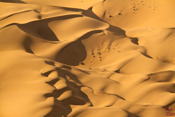 Flying over Sossusvlei sand dunes, Namibia photo 1