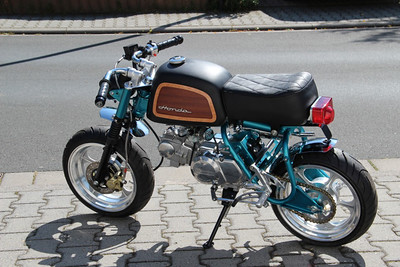 Cool current scotters and tiny little 50cc