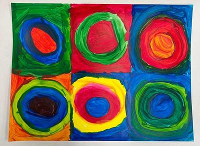 Eighth Grade Art