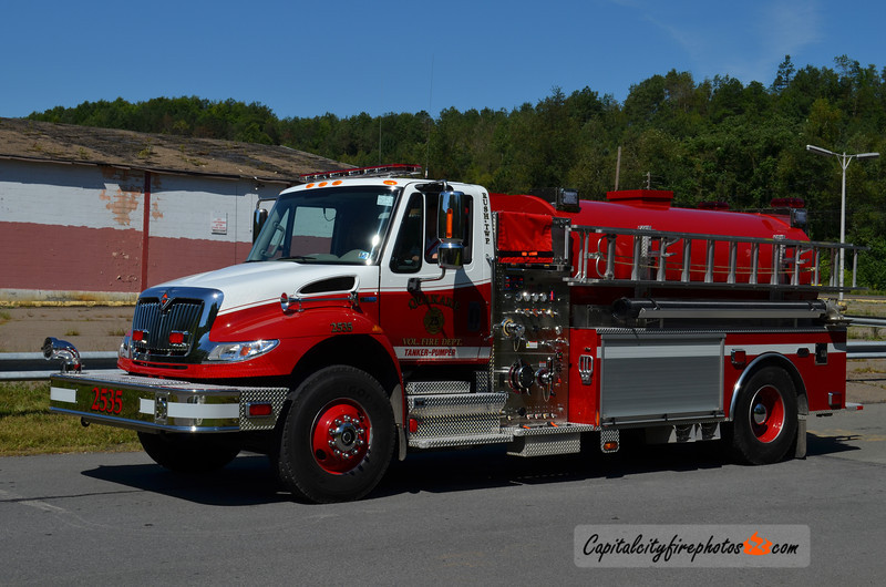 Quakake Fire Co. (Rush Township) Tanker 25-35: 2003 International/KME 1500/2300