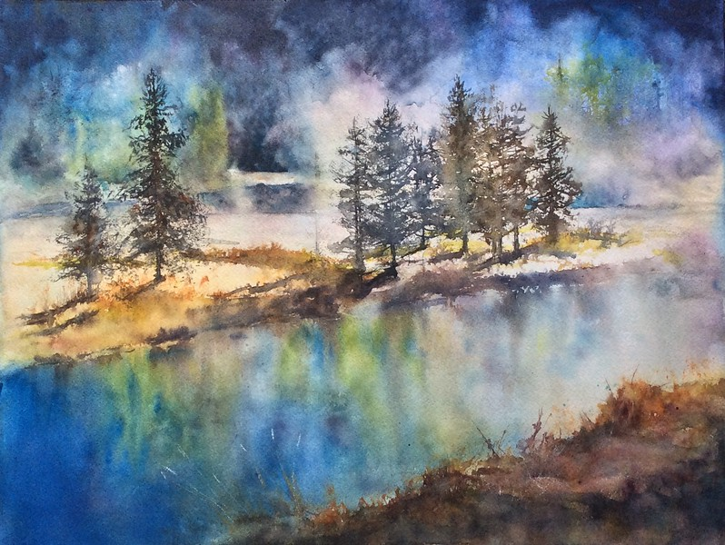 Thermal Mist by Laura Stratis