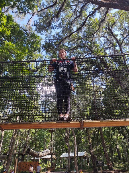 8th Grade End of Year Trip to TreeHoppers