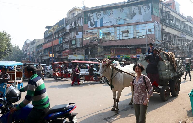 Old Delhi hubub