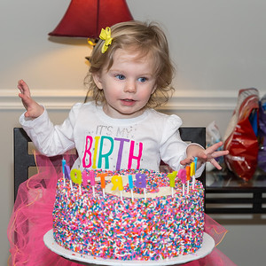 Miley's Second Birthday
