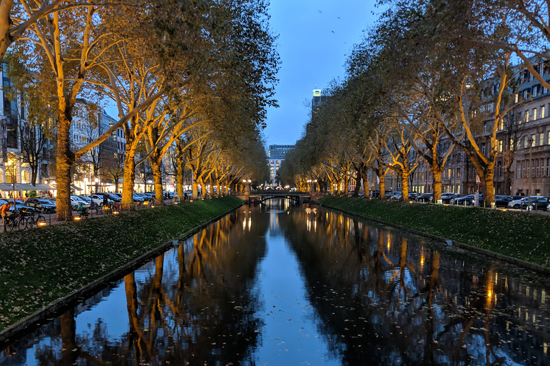 Wednesday, October 24 - Exploring Dusseldorf
