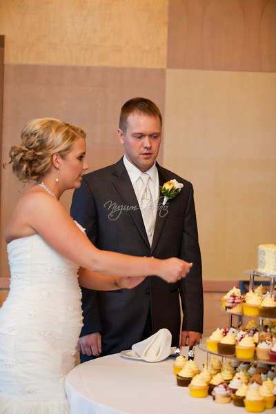 Cake Cutting - Melanie and Jonathan