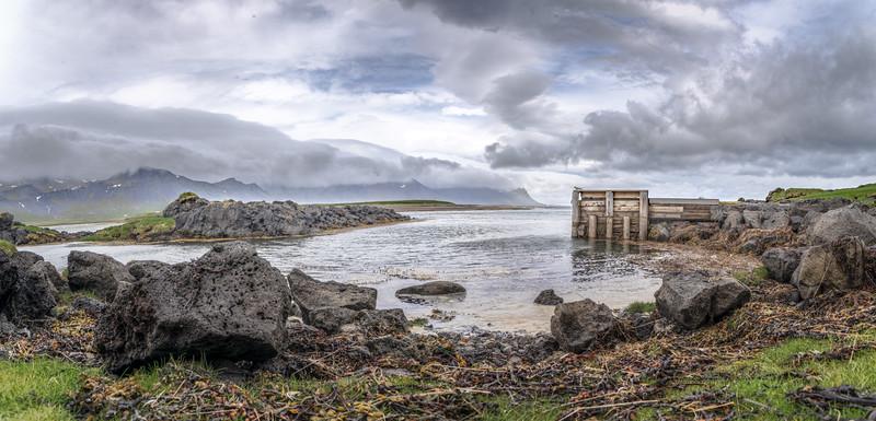 Distant Peaceful Coast  Photography by Wayne Heim