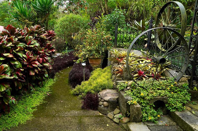 Garden of Ileana Jimenez de Terán near San Jose