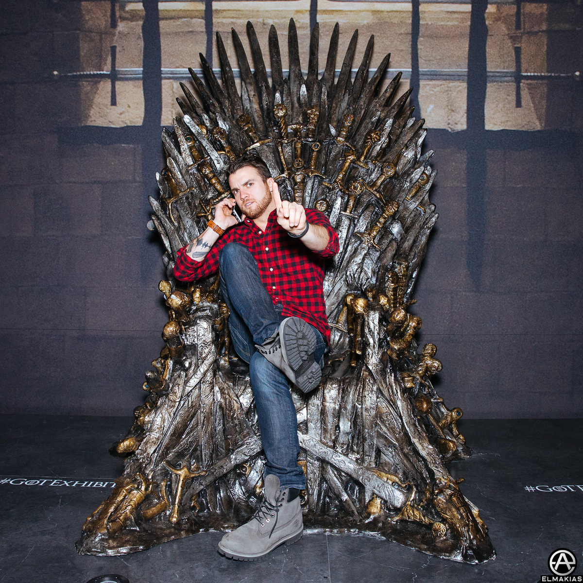 Rian at the Game Of Thrones