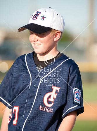 2009-07-10 Baseball First Colony Nats vs Post Oak 12U D16 G29