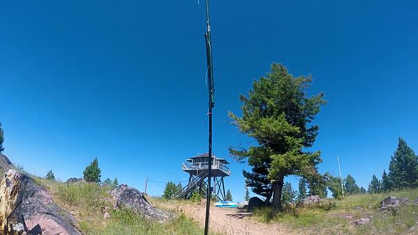 SOTA ACTIVATION:  Double Arrow Lookout -2020 Jul 25