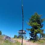 Double Arrow Lookout -Summits On The Air July 25, 2020