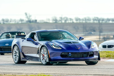Blue C7 Corvette Z06