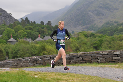 Sportpursuit Slateman Triathlon - Duathlon Run 1 at Quarry Hospital