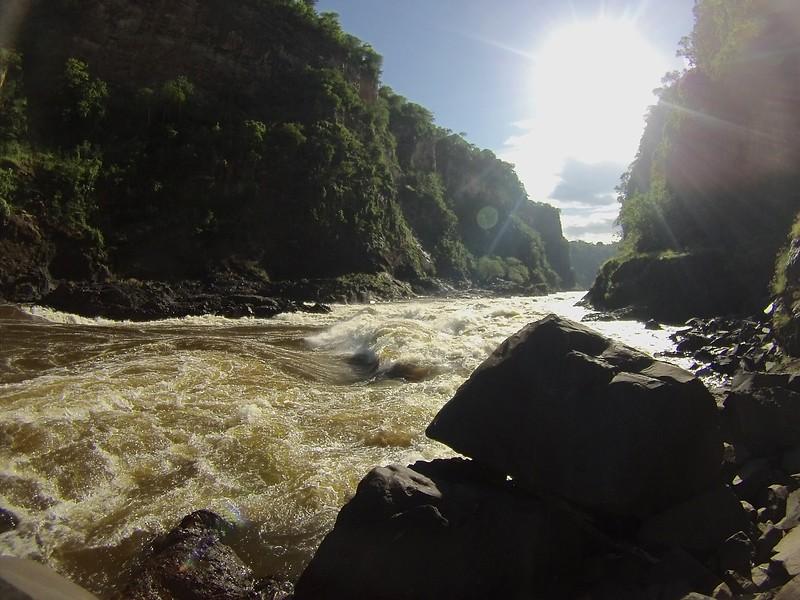 Victoria Falls, Zambezi River