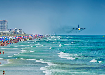 Pensacola Blue Angels Beach Show 2015 & 2016
