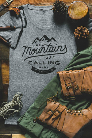 The Mountains are Calling T-Shirt | Holiday Gifts for Travelers