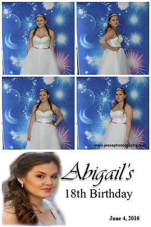 Abigail's 18th Birthday