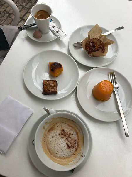 Desserts at Alcoa