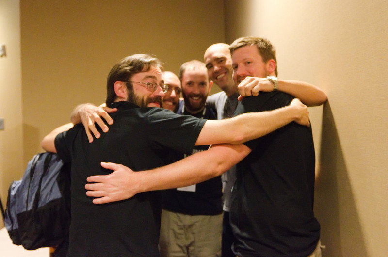 In the Django world it's definitely more friendly competition rather than fierce competition.  Lab305 and RevSys group hug!