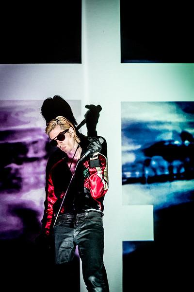Joe Cardamone performs onstage at Boiler Shop on 30.11.17