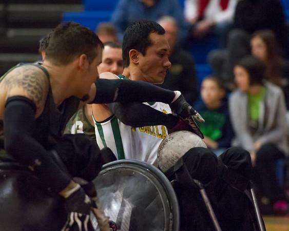 1-18-2014 Portland Wheelchair Rugby Tournament
