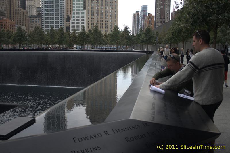 National September 11 Memorial, World Trade Center, New York, NY