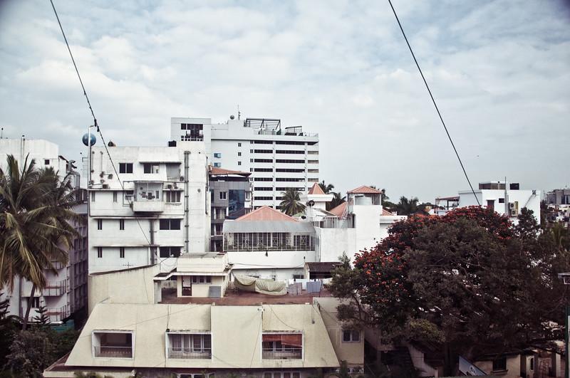 out my window. digital.