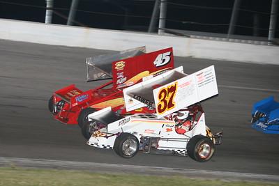 ISMA Super Modifieds and AVSS Super Sprints, Toledo Speedway, Toledo, OH, June 15, 2007