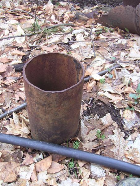 N41°58.646', W78°29.480' Well near rust colored pump jack.