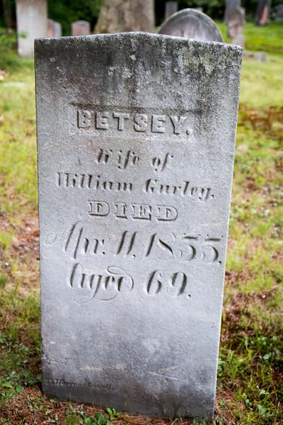 Betsey Gurley Gravestone