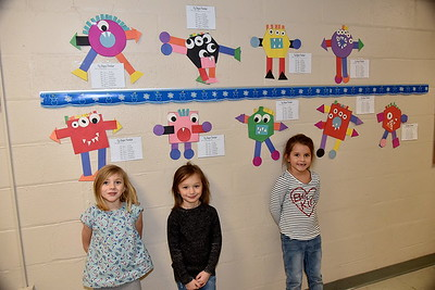 Kindergarten Shape Monsters photos by Gary Baker