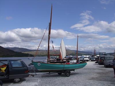 Lochaber Yacht Club to Fort Augustus
