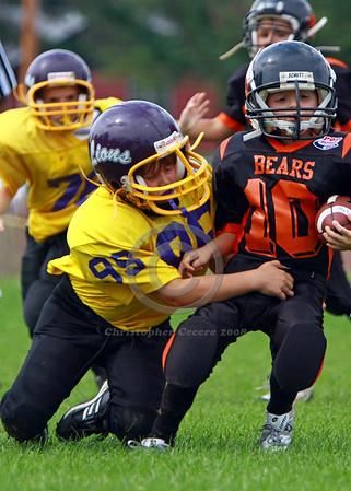 Mitey Mite Gold v. Ogden Bears 9-14-08