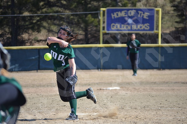 Softball; MDI vs Mattanawcook; 4/12