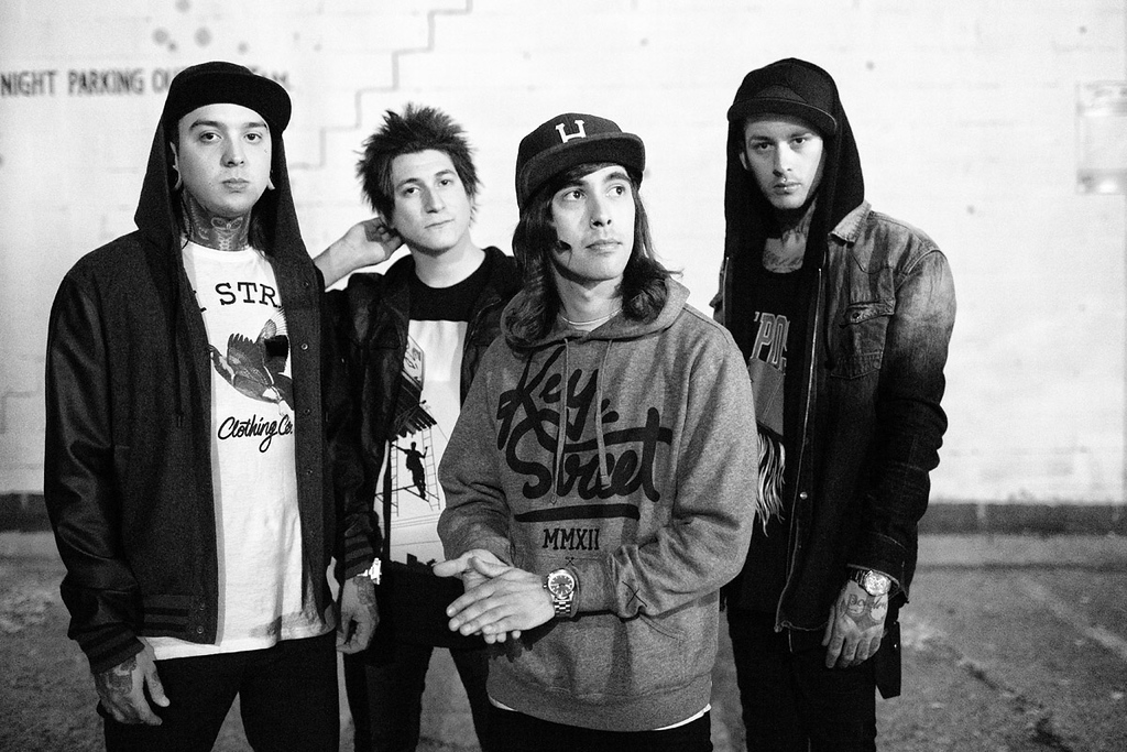 Mike and Vic Fuentes of Pierce The Veil