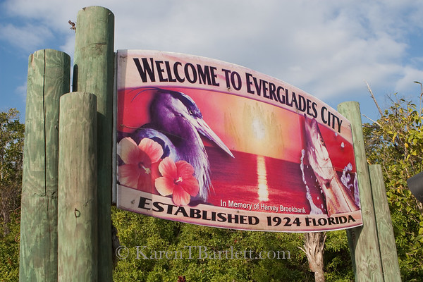 9221 Welcome to Everglades City
