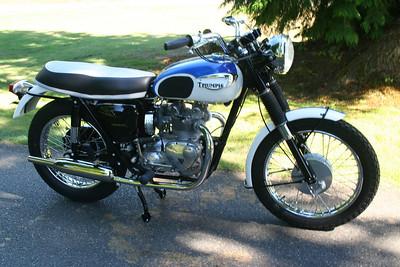 1967 T100R Daytona Wedlake)
