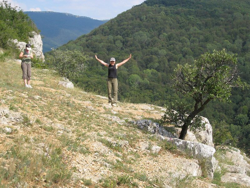 "Crimea - Joy at arriving in the ""Grand Canyon of Ukraine"" - Lyuda from Izmail church"