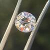 1.62ct Antique Cushion Cut Diamond GIA J VS1 22