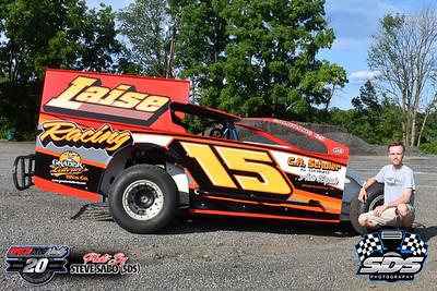 Grandview Speedway - 8/1/20 - Steve Sabo (SDS)