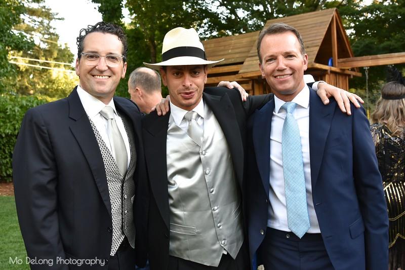 Ron Abta, Chris Kawaja and Steve Hays