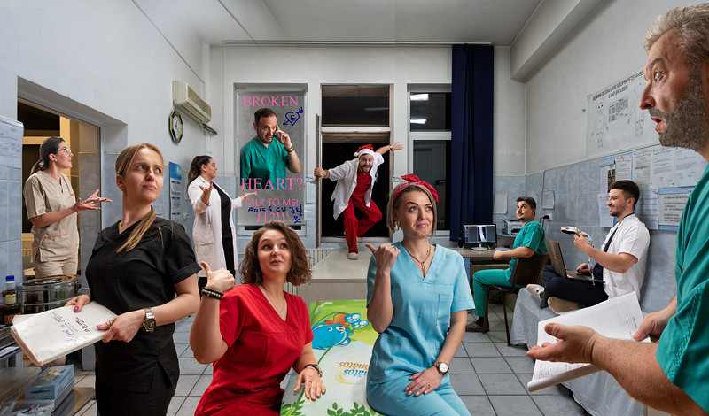 THE BEAUTIES AND THE BEARDS - OUTPATIENT DEPARTMENT