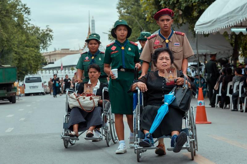 Suan Luang, Bangkok, During mourning for King Bhumibol Adulyadej, November 2016