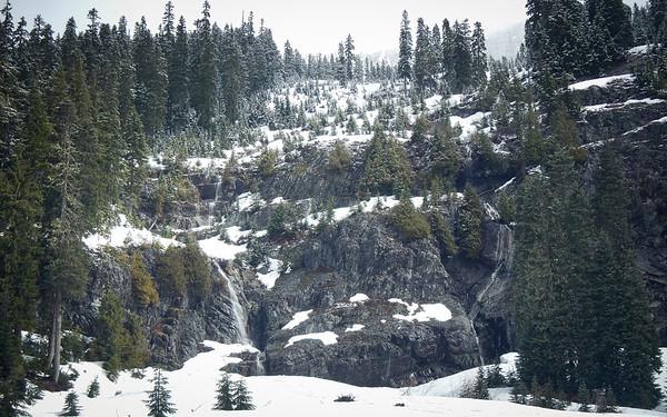 Snow Lake Attempt April 2014