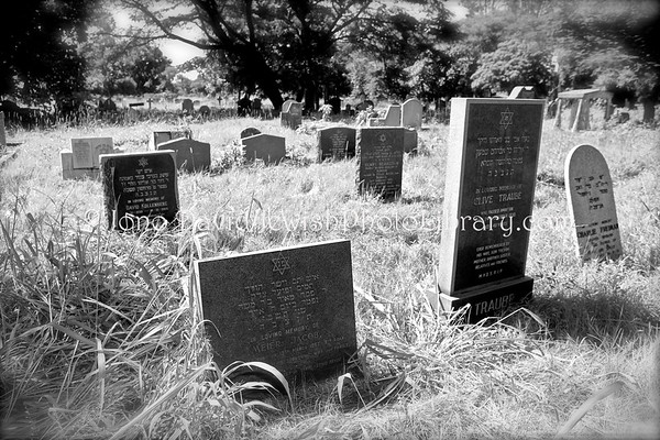 ZAMBIA, Kitwe. Chingola Road Cemetery, Kitwe City Council (2.2013)