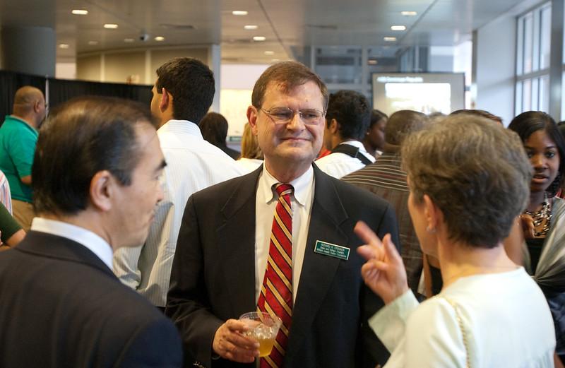 Day 3 -Richard Crocker at the Multifaith Reception