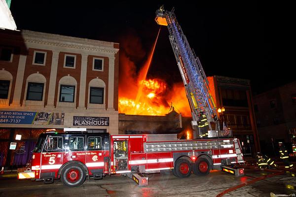2-11 Alarm of Fire 2235-37 S. Michigan Avenue 2020